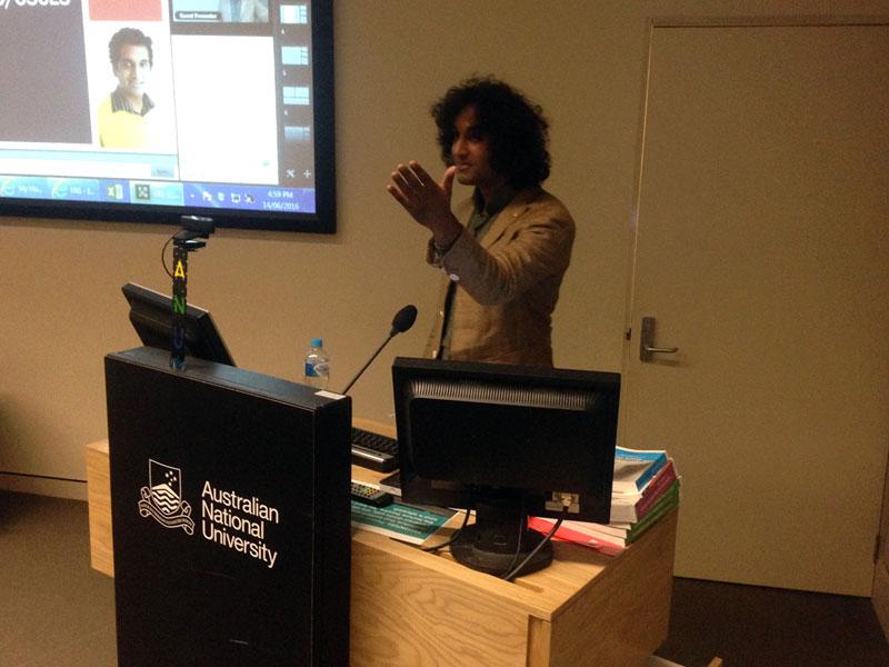Zeshan Qureshi - Global Health Talks - Adelaide
