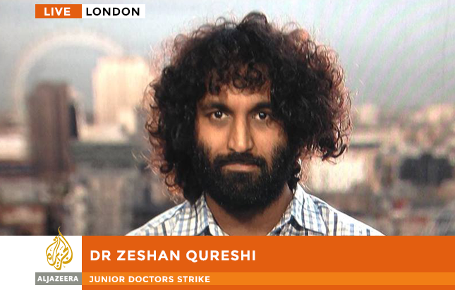 Zeshan Qureshi on Al Jazeera