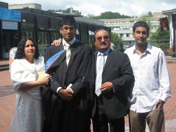 Graduating from Medical School